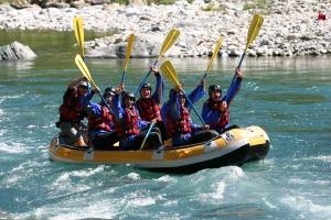 Rafting Valsesia Piemonte Italia, il Rafting Team Building.