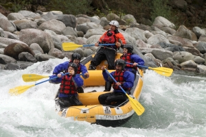 Rafting in Valsesia,  divertimento assicurato.
