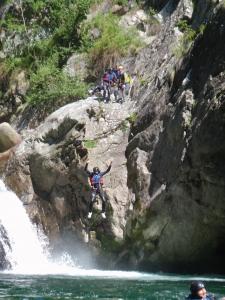 Canyoning Piemonte, tuffi fantastici e sempre in  sicurezza.