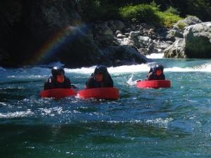 Rafting Piemonte un ambiente stupendo per un'avventura in Hydrospeed.