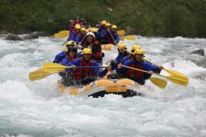 Rafting Piemonte che passione.