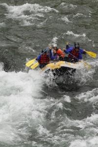 la storia del rafting